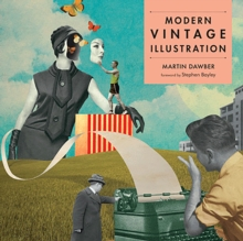 Modern Vintage Illustration, Paperback Book