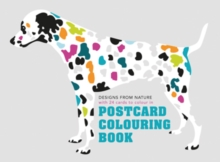 Postcard Colouring Book, Hardback Book
