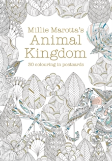 Millie Marotta's Animal Kingdom Postcard Book : 30 Beautiful Cards for Colouring in, Postcard book or pack Book