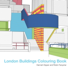 London Buildings Colouring Book, Paperback Book