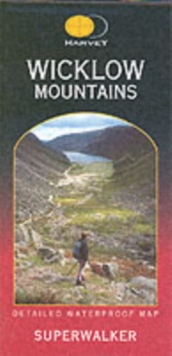Wicklow Mountains, Sheet map, folded Book