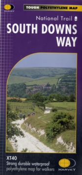 South Downs Way : National Trail, Sheet map, folded Book