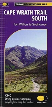 Cape Wrath Trail South XT40 : Route Map, Sheet map, folded Book