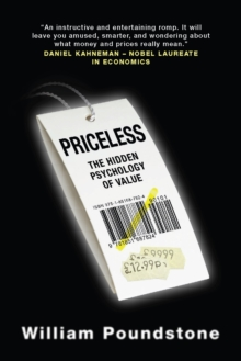 Priceless : The Hidden Psychology of Value, Paperback Book