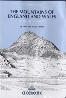 The Mountains of England and Wales: Wales : Volume 1, Paperback Book
