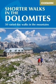 Shorter Walks in the Dolomites, Paperback Book