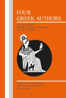 Four Greek Authors, Paperback Book