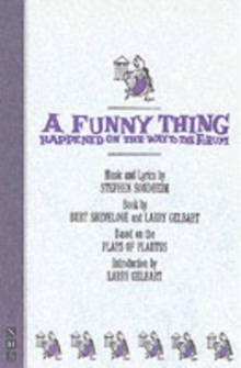 Funny Thing Happened On Way to the Forum, Paperback Book
