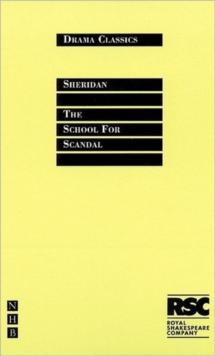 School for Scandal, Paperback Book