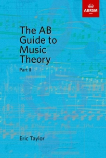 The AB Guide to Music Theory, Part II, Sheet music Book