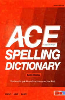 ACE Spelling Dictionary, Paperback Book