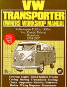 Volkswagen Workshop Manual: Vw Transporter 1954-67 : Part No Owm834, Paperback Book
