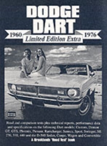 Dodge Dart Limited Edition Extra 1960-1976, Paperback Book