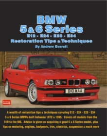 BMW 5 & 6 Series Restoration Tips & Techniques, Paperback Book