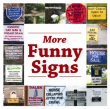 More Funny Signs, Paperback Book