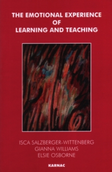 The Emotional Experience of Learning and Teaching, Paperback Book