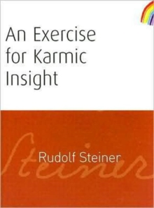 An Exercise for Karmic Insight, Paperback Book