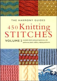 450 Knitting Stitches : v. 2, Paperback Book