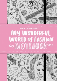 My Wonderful World of Fashion Notebook, Paperback Book