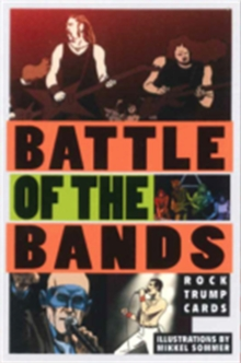 Battle of the Bands : Rock Trump Cards, Cards Book