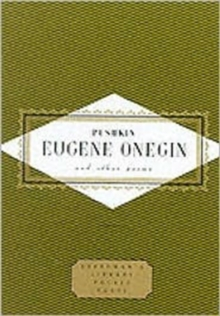 Eugene Onegin and Other Poems, Hardback Book
