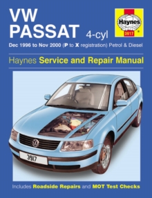 VW Passat (96-00) Service and Repair Manual, Hardback Book