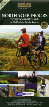 North York Moors Cycling Country Lanes & Traffic-free Family Routes, Sheet map Book