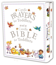 Candle Prayers for Toddlers and Candle Bible for Toddlers, Hardback Book
