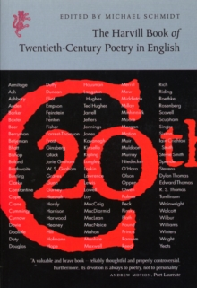 The Harvill Book of 20th Century Poetry in English, Paperback Book