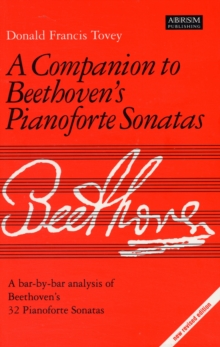 Companion to Beethoven's Pianoforte Sonatas : Revised Edition, Sheet music Book