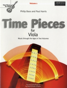 Time Pieces for Viola, Volume 1 : Music through the Ages in Two Volumes, Sheet music Book