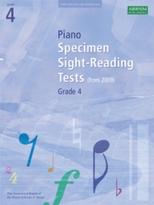 Piano Specimen Sight-Reading Tests, Grade 4, Sheet music Book