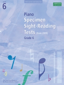 Piano Specimen Sight-Reading Tests, Grade 6, Sheet music Book