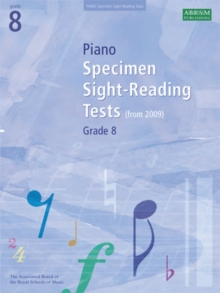 Piano Specimen Sight-Reading Tests, Grade 8, Sheet music Book