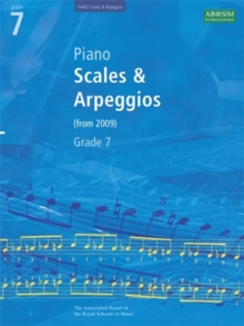 Piano Scales & Arpeggios, Grade 7, Sheet music Book