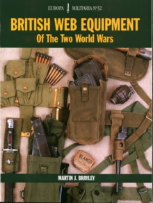 British Web Equipment of the Two World Wars, Paperback Book
