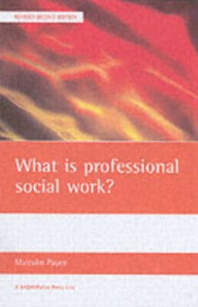 What is Professional Social Work?, Paperback Book