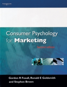 Consumer Psychology for Marketing, Paperback Book