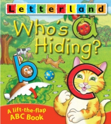 Who's Hiding ABC Flap Book, Paperback Book
