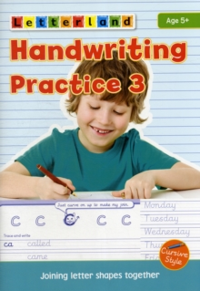 Handwriting Practice : Joining Letter Shapes Together 3, Paperback Book