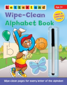 Wipe-Clean Alphabet Book, Paperback Book