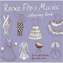Rosie Flo's Music Colouring Book, Paperback Book