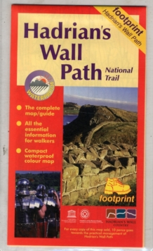 Hadrian's Wall Path : Bowness to Wallsend, Sheet map, folded Book