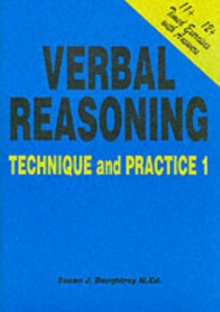 Verbal Reasoning : Technique and Practice No. 1, Paperback Book