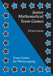 Junior Mathematical Team Games, Book Book