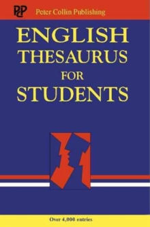 English Thesaurus for Students, Paperback Book