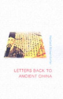 Letters Back to Ancient China, Paperback Book