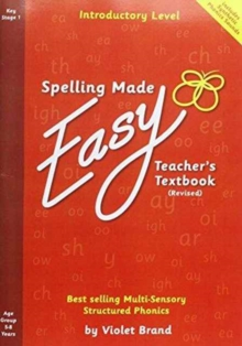 Spelling Made Easy Revised A4 Text Book Introductory Level : Teacher TextBook Introductory, Paperback Book