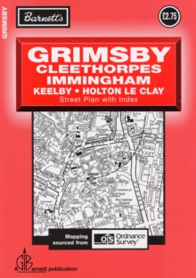 Grimsby Street Plan, Sheet map, folded Book