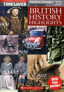 Timesaver - British History Highlights, Copymasters Book